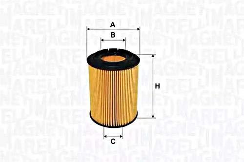 Magneti Marelli 71760253 filtro de combustible