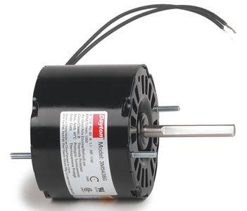 Dayton 3M543 HVAC Motor, 1/40 hp, 1550 rpm, 115V by Dayton