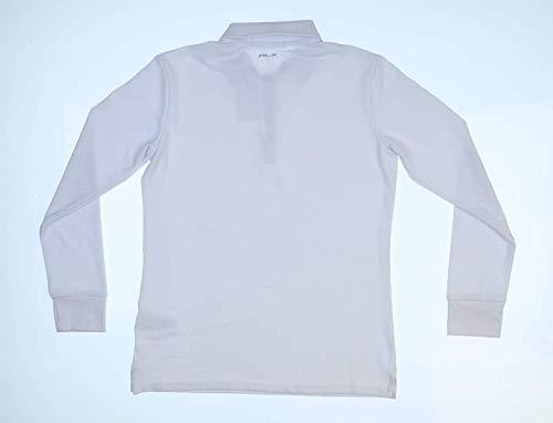 Ralph Lauren New Womens RLX Long Sleeve Polo X-Small XS White