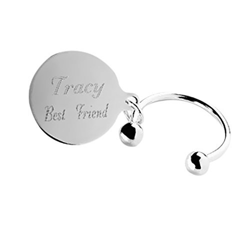 (Personalized JDS Gifts Tiffany-Style Key Chain)
