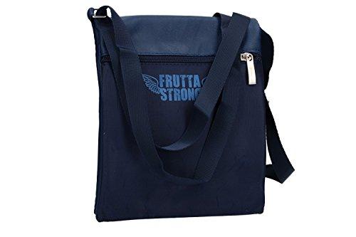 Umgehängt herren FRUTTA blau bandolier Taschen Kleine platt VF380