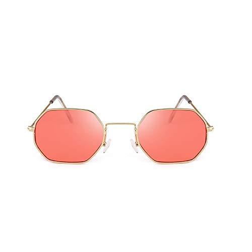 Mercury Hombre Street Gafas Sol Mercury Red Green Metal de Sol Gafas Hombre Cajas Film Retro de Film Sunglasses Color Ocean Moda Gafas Sol Men Gafas Moda de TdxBC6wq6