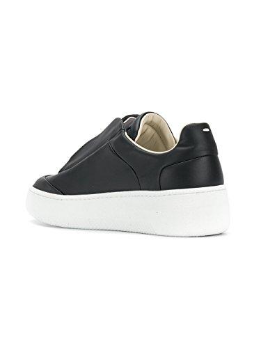 Maison MAISON S57WS0187SY0984962 Herren Margiela Schwarz Slip Sneakers on MARGIELA Leder 11 rqw1ZgrE