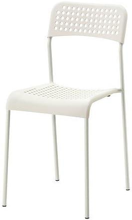 Sedie Di Plastica Ikea.Ikea Adde Sedia Impilabile Sedia In Plastica Con Struttura In