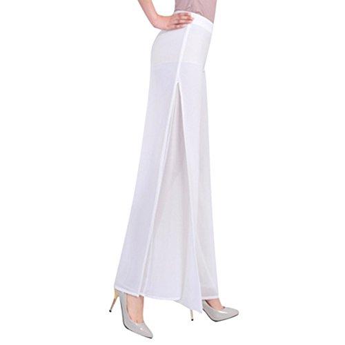 white pants with split - 6