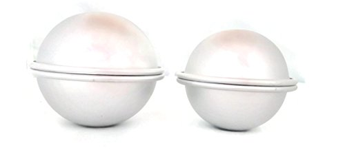 Extra Large Aluminum Bath Bomb Mold Set of 2