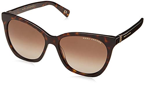 Marc Jacobs MARC 336/S 086 Dark Havana MARC 336/S Cats Eyes Sunglasses Lens Cat ()