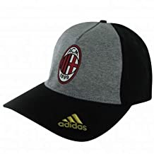 AC Milan Crest Baseball Cap by Adidas