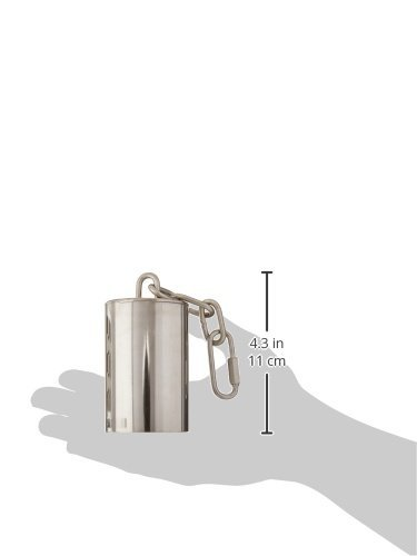 Caitec Paradise 2-Inch by 3-Inch Stainless Steel Bell for Pets, Large by Paradise (Image #1)