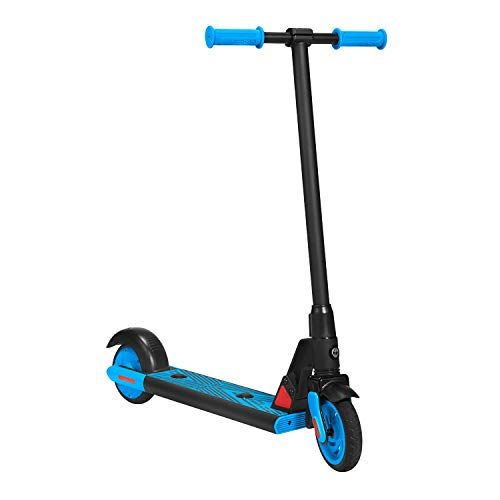 "Gotrax GKS Electric Scooter for Kids - 10MPH - 7.5 Mi Range - 6"" Wheels (Blue)"