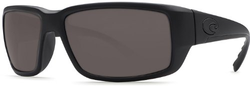 Costa Del Mar Fantail Sunglasses, Blackout, Gray 580P - Ladies Shopping Online Sunglasses