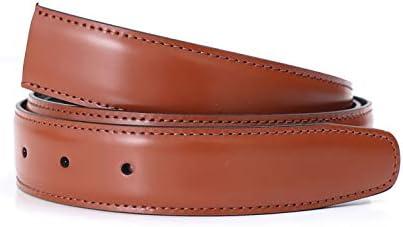 大きめサイズ ストリンガ(ズボン用替えベルト) バックルなし ジョルジオスタメッラ 推奨ウエスト117cmまで 全長130cm 幅3cm ジョバンニ ヴォルペ