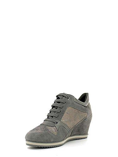 Grey Geox Sneakers Femme D5454a0ma21 Dk UZnxSvxq40