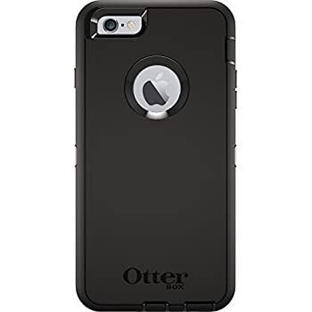 best service eb97e e217e OtterBox DEFENDER iPhone 6 Plus/6s Plus Case - Frustration Free Packaging -  BLACK