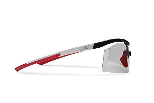 892704ef3c Snatch Cycling Running Photochromic Polarized Sport Sunglasses - Adjustable  Nose - Ultralight Nylon Mesh - by