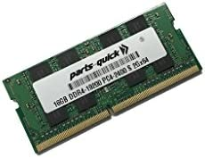 PARTS-QUICK Brand 1X16GB Memory for HP OMEN X 17-ap000 Series Laptop PC Compatible RAM Upgrade DDR4-2400 SODIMM 16GB