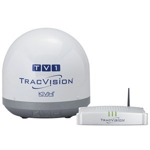 (KVH Industries 01-0366-07 TracVision TV1 Satellite TV System)