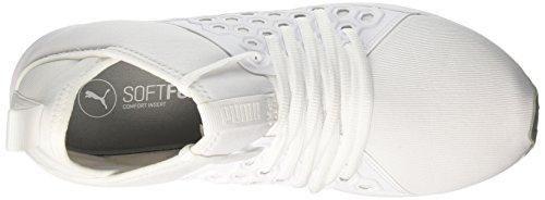 Puma Nf Cross Chaussures Mid Puma quarry de Homme White Enzo Blanc w68PPa