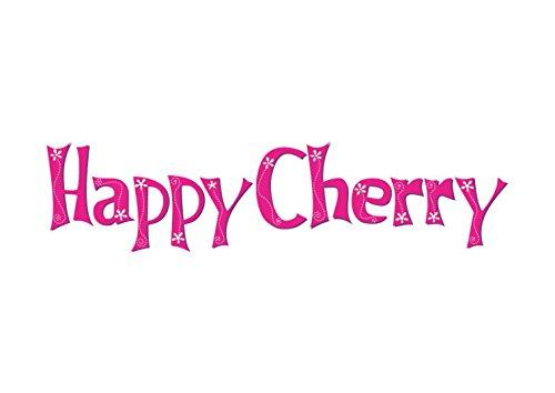 Happy Cherry 1 Par Zapatos Bebés Niñas Aprender a Andar Suela Blanda Antideslizante Patrón de Rosas Multicolores Púrpura