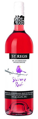 St. Regis Shiraz non alcoholic (Pack of (Shiraz Wine Food)