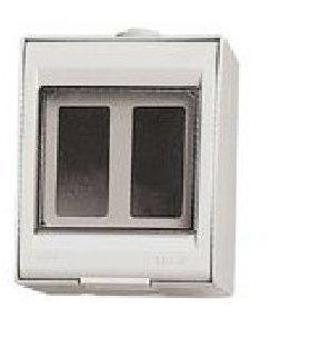 Vimar cajas de superficie - Caja superficie ip55 2 módulo 8000 ...