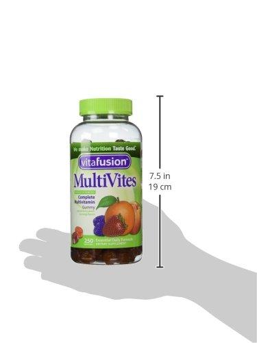 VitaFusion MultiVites Gummy Vitamins for Adults - 250 Gummies