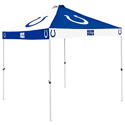 Logo Brands NFL Indianapolis Colts Checkerboard Tent Checkerboard Tent, Royal, One Size [並行輸入品] B07R4VYT6C