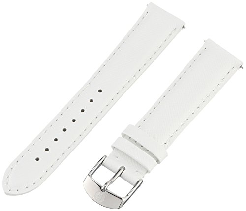 Michele Watches 18mm Leather Watch Strap - 7