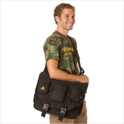 Bbp Hamptons Hybrid Messenger Backpack Laptop Bag Black Small Import It All