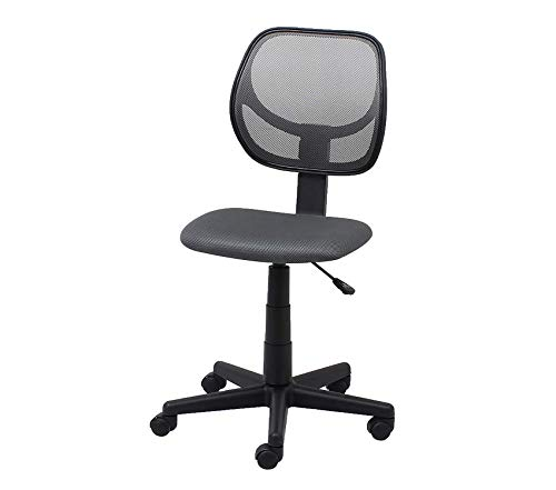 Оfm Office Home Furniture Premium by OFM Armless Mesh Task Chair, Gray