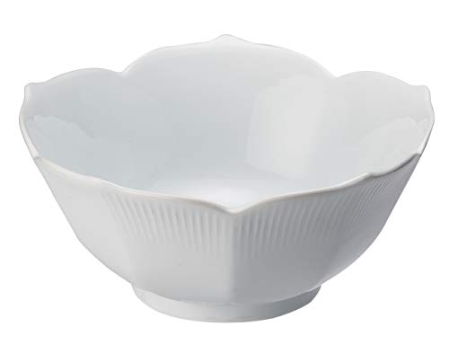 (HIC Harold Import Co. 369 HIC Porcelain Lotus Bowl, 6-Inch, 10 Ounce)