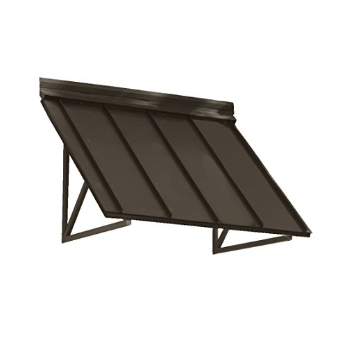 - Awntech 5-Feet Houstonian Metal Standing Seam Awning, 24 by 24-Inch, Bronze
