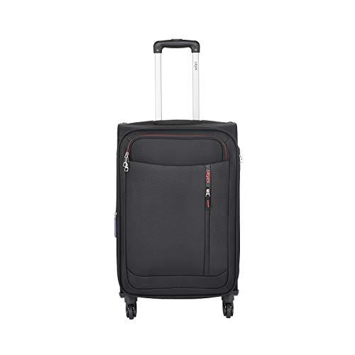 Safari Nebula Polyester 68 cms Black Softsided Check-in Luggage (NEBULA654WBLK)