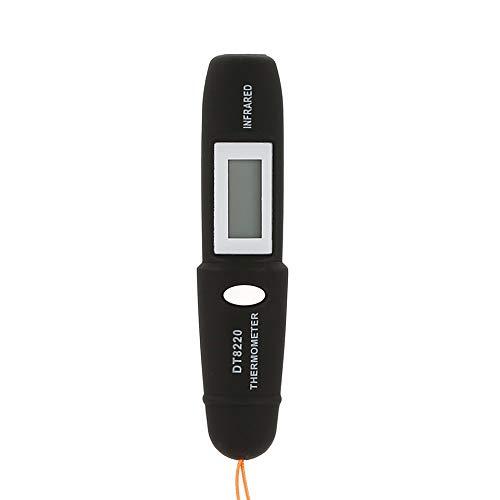 DT8220 LCD digitale Mini termometro a infrarossi Tester di temperatura Tester Laser rosso Pocket senza contatto pirometro Pen Household nero