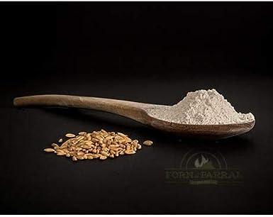 Harina de espelta integral Forn del Parral, 1 kg: Amazon.es ...