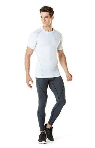(テスラ) TESLA 半袖 ラウンドネック スポーツシャツ