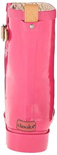 Top Women's Solid Hibiscus Mid Pink Chooka 46S5nvxzv