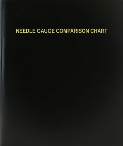 (BookFactory Needle Gauge Comparison Chart Log Book / Journal / Logbook - 120 Page, 8.5