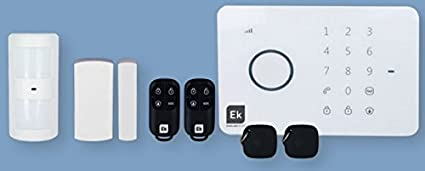 Ek gsm-1 - Kit alarma gsm-1 gsm+accesorios: Amazon.es ...