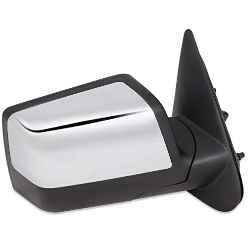 FO1321289 OE Style Powered Passenger/Right Side View Door Mirror Chrome for Ford Ranger 06-11