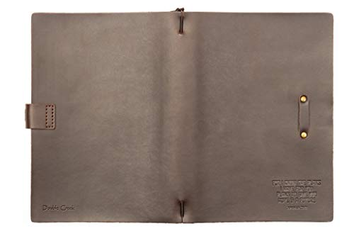 Genuine Leather Journal with Embossed For I Know The Plans Jeremiah 29:11  Scripture