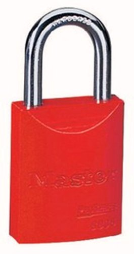 Master Lock 6835RED Aluminum Diameter