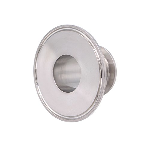 Dernord Sanitary Concentric Reducer Tri Clamp Clover Stainless Steel 304 Sanitary Fitting End Cap Reducer (Tri Clamp Size: 3 inch x 1.5 inch) by Dernord (Image #4)
