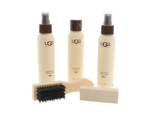 UGG AUSTRALIA WOMEN's SHEEPSKIN CARE KIT, NOT APPLICABLE , ONE SIZE (Suede Protector Boots)