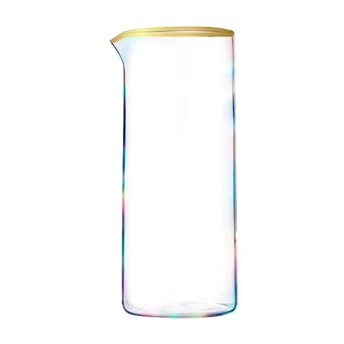 Root7 Rainbow Cocktail Pitcher | Beautiful Tinted Borosilicate Cocktail Pitcher, Perfect Cocktail Making Gift, 35oz