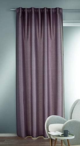 Albani Laura – Sciarpa con passanti nascosti, 245 x 135 cm, colore: Rosso, Tessuto, Colore: rosso, 245x135cm