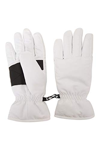 white insulated gloves - 9