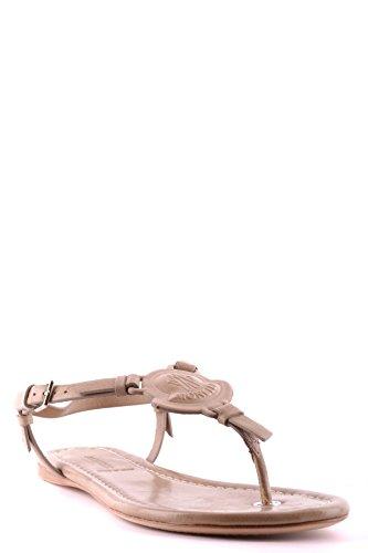 Moncler Mcbi212006o Flop Delle Pelle Donne Vibrazione Beige Di wwF7Pq