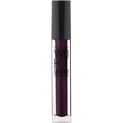 Maybelline New York Color Sensational Vivid Hot Lacquer Lip Gloss, Slay It, 0.17 Fluid Ounce