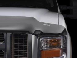 WeatherTech Custom Fit Stone & Bug Deflector for Toyota RAV4 (2 door), Dark Smoke